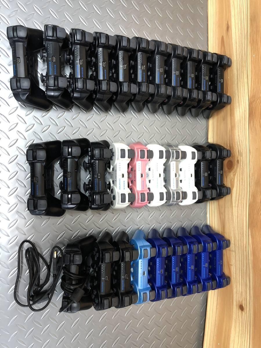 ジャンク PS3 SONY 純正 DUALSHOCK3 コントローラー まとめて 大量 70個。_画像7