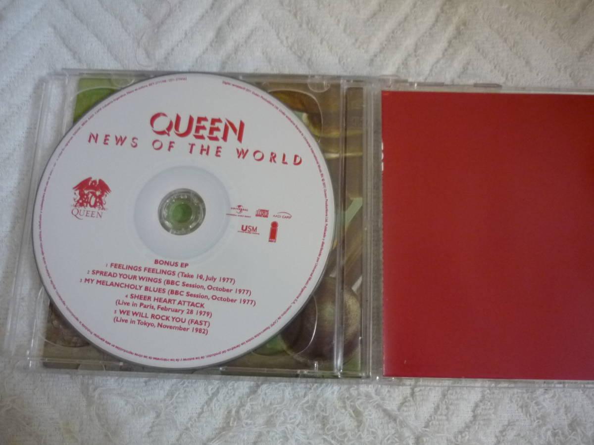 CD《Queen/News of the World》 中古_画像3