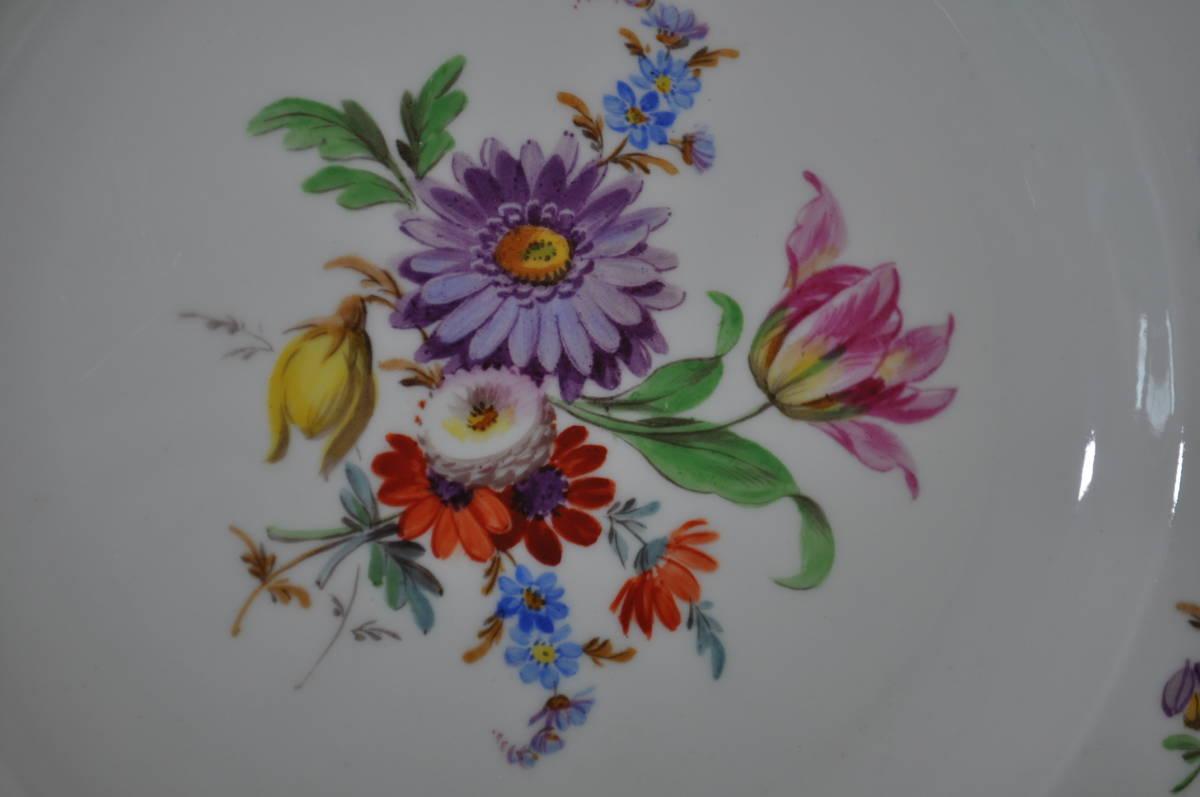 【マイセン】フローラルフラワー7つ花スリーセットレギュラーサイズ_画像8
