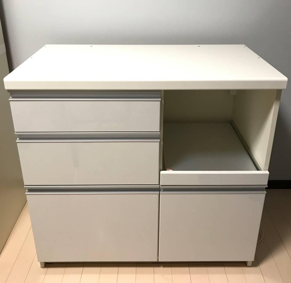 Pamouna パモウナ LU-900R キッチンカウンター☆キッチンボード☆食器棚下台