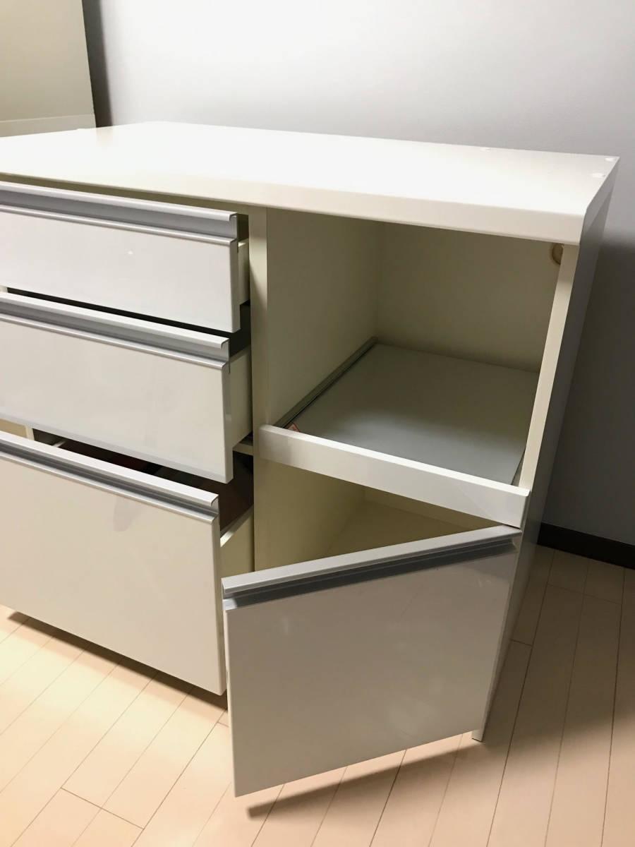 Pamouna パモウナ LU-900R キッチンカウンター☆キッチンボード☆食器棚下台_画像4