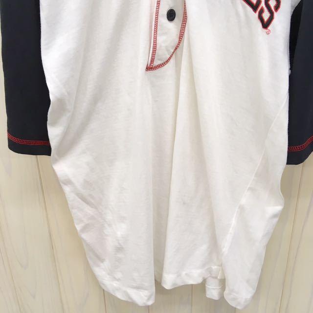 CHICAGO BULLS / シカゴ ブルズ / ベースボールシャツ / 半袖 / Mサイズ / ユニフォーム / 野球 / ゲームシャツ_画像2