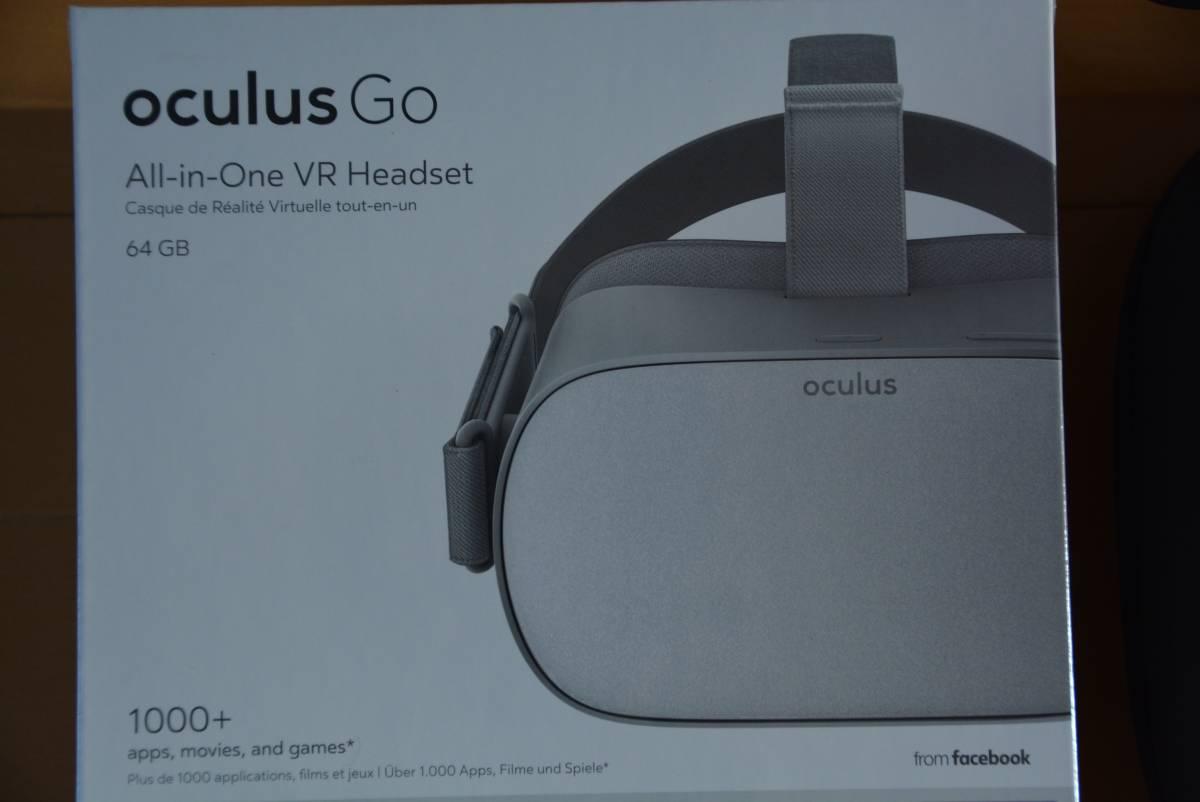 新品 【正規輸入品】 Oculus Go オキュラスゴー 64GB 純正専用ケース付 VR 単体型 ヘッド セット
