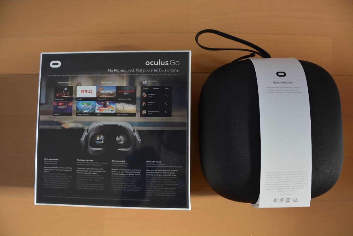 新品 【正規輸入品】 Oculus Go オキュラスゴー 64GB 純正専用ケース付 VR 単体型 ヘッド セット_画像3