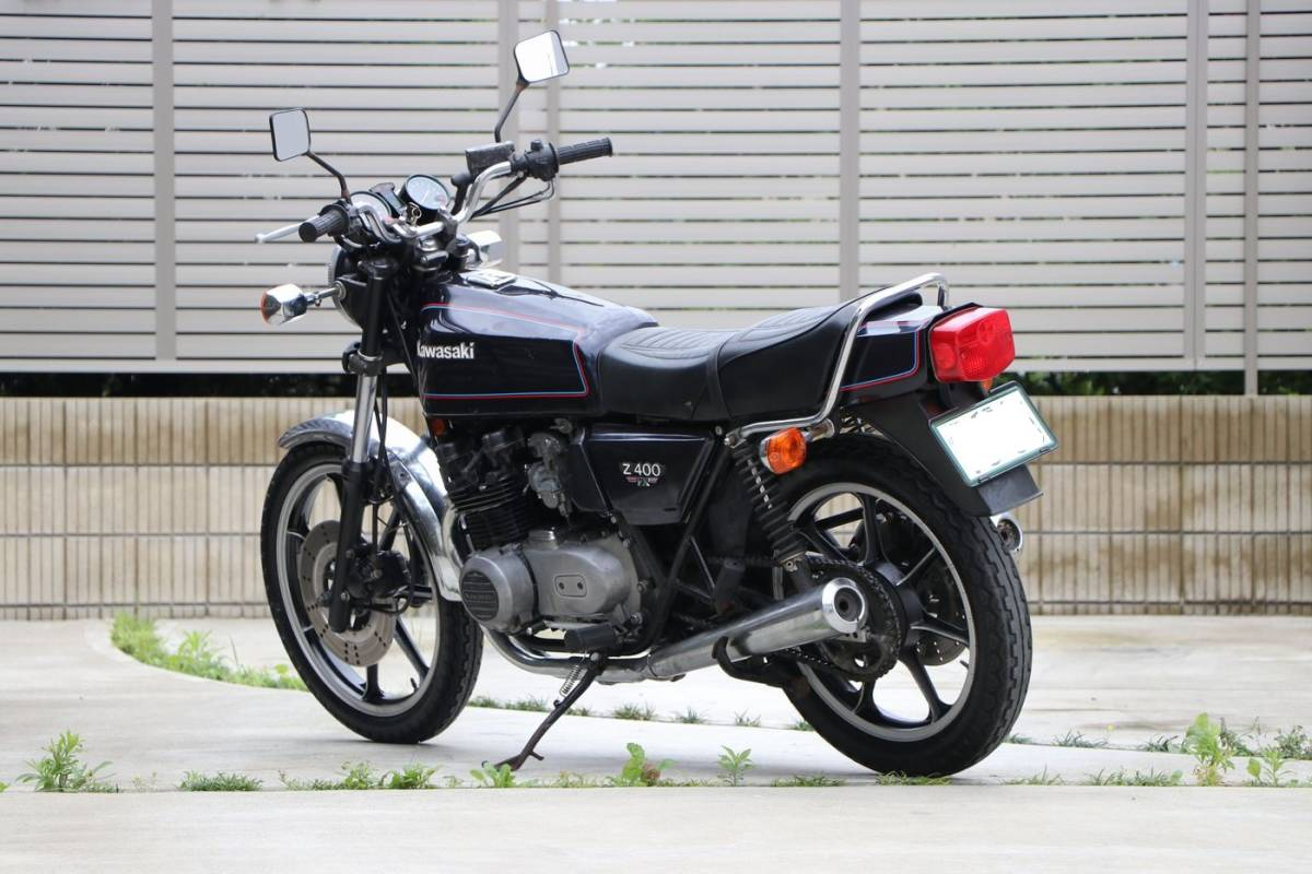 Z400FX E2 昭和55年式 車検付き 外装オリジナル車両_画像2