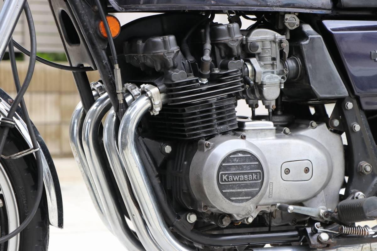 Z400FX E2 昭和55年式 車検付き 外装オリジナル車両_画像7