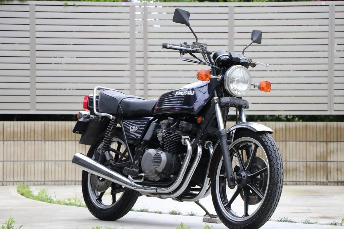 Z400FX E2 昭和55年式 車検付き 外装オリジナル車両_画像1