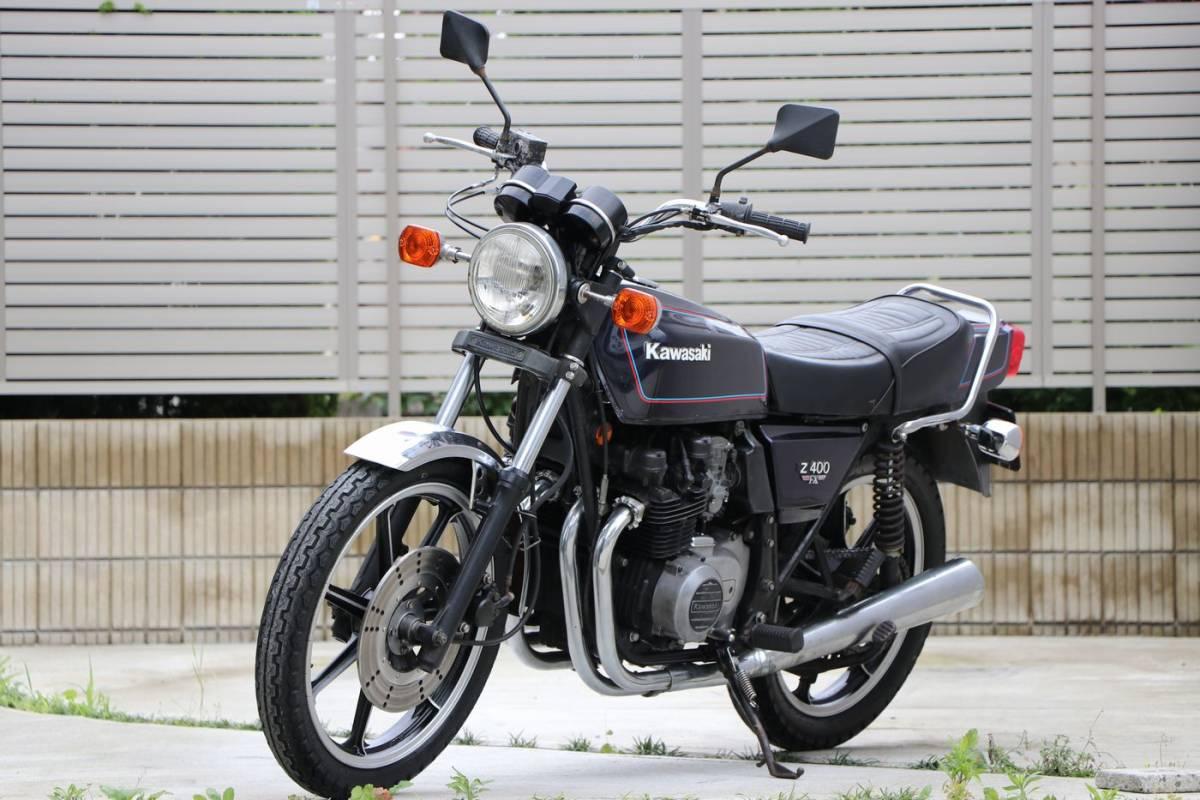 Z400FX E2 昭和55年式 車検付き 外装オリジナル車両_画像4