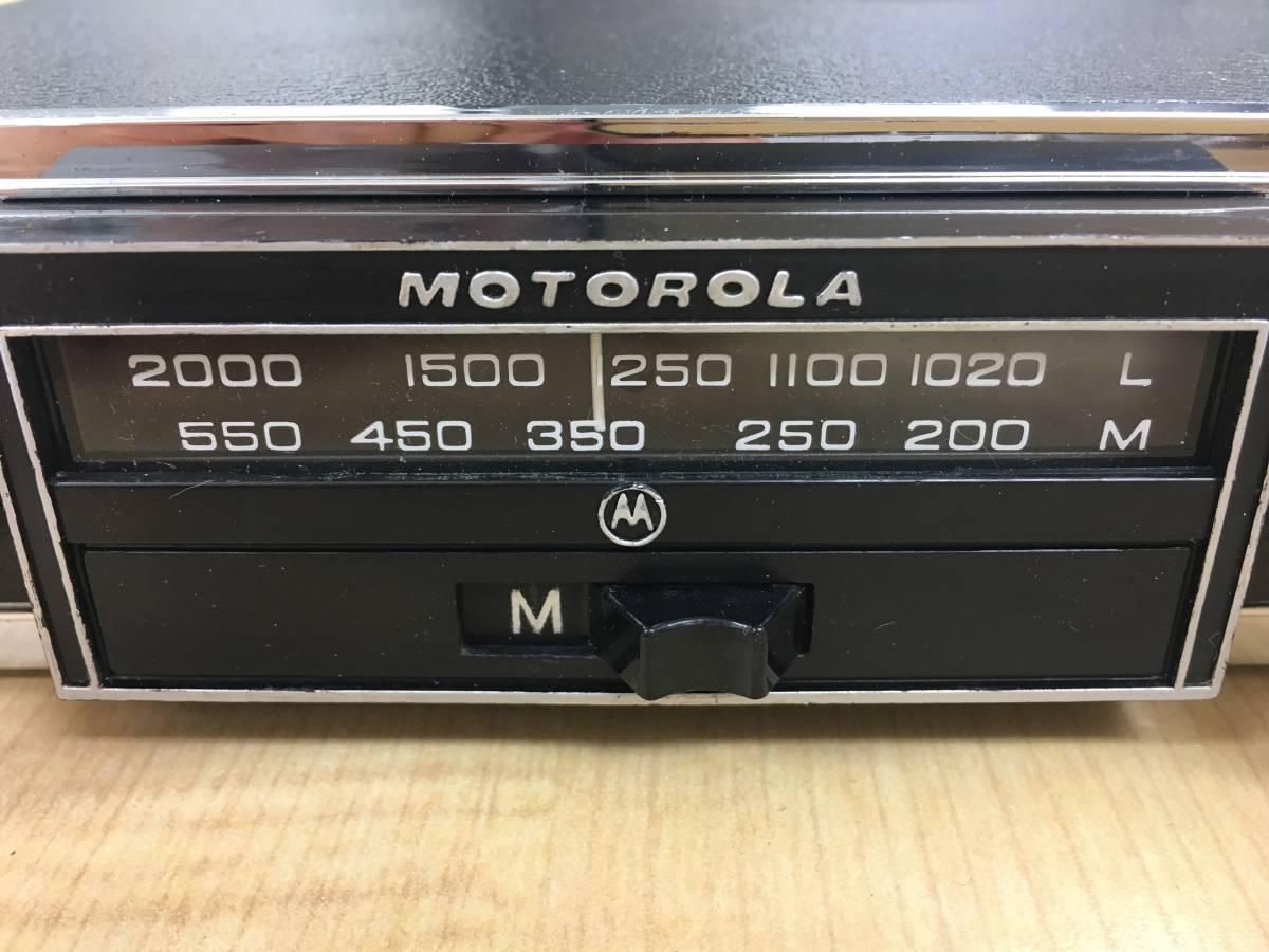 ado16 BMC クラッシックカーラジオ MOTOROLA_画像2