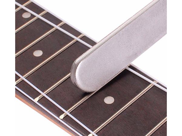 ☆ギター クラウニングファイル 中目 HQタイプ フレット上部を丸く整える工具 フレットファイル クラウンツール ヤスリ セール品