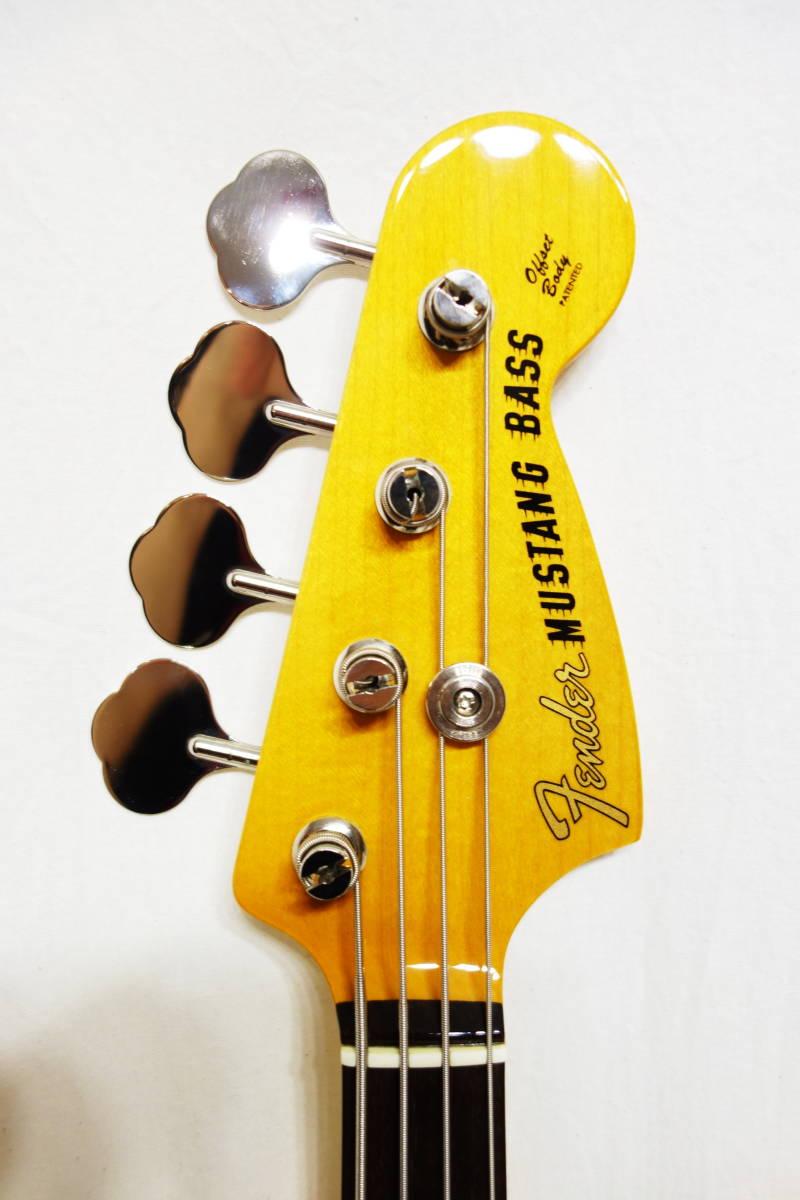 ★レア!Fender Japan ムスタングベース「MB-SD VWH」 ショートスケール 美品 E-1922_画像3