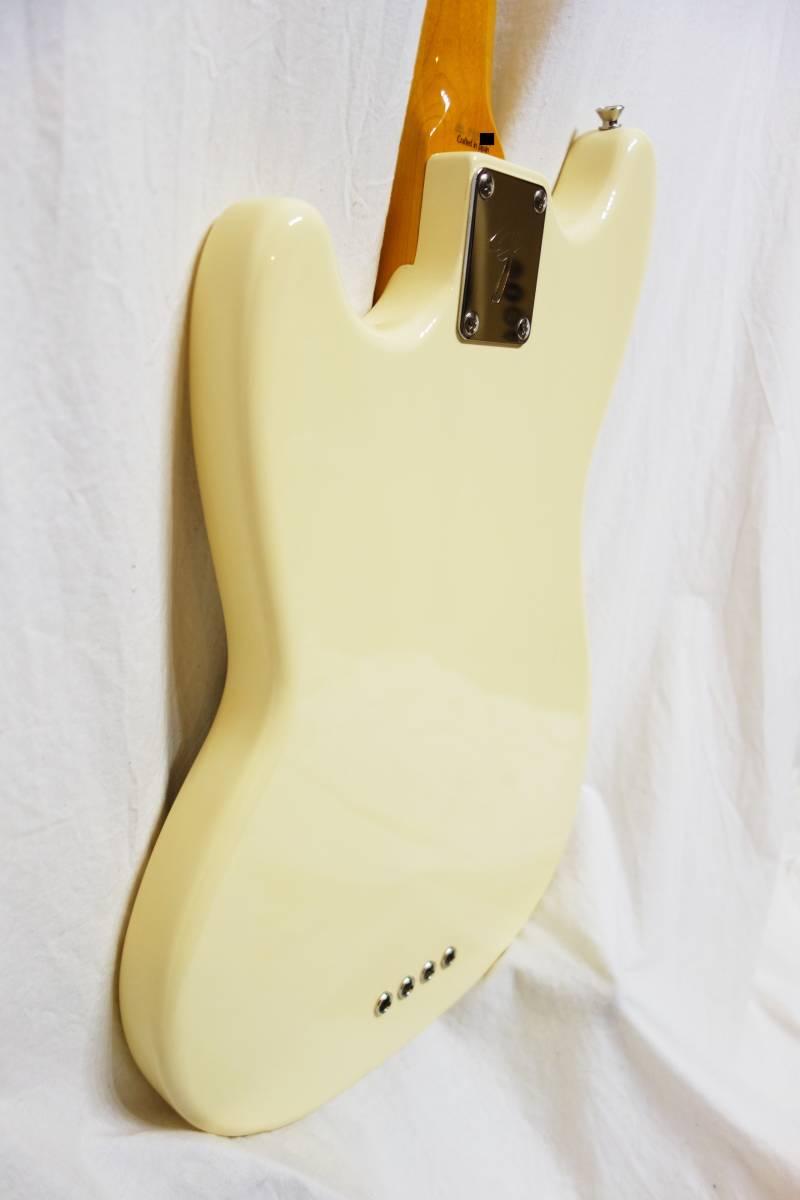 ★レア!Fender Japan ムスタングベース「MB-SD VWH」 ショートスケール 美品 E-1922_画像8