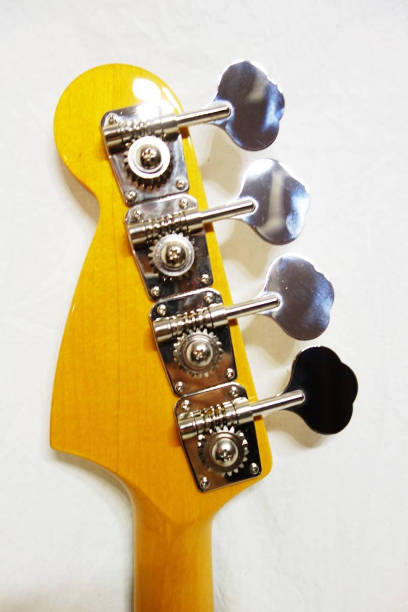 ★レア!Fender Japan ムスタングベース「MB-SD VWH」 ショートスケール 美品 E-1922_画像6