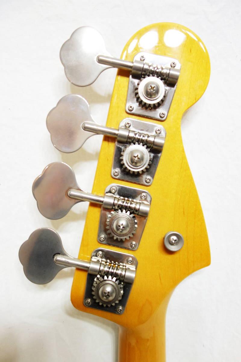 ★レアカラー!Fender Japan ジャズベ「JB62-70L FRD」レフティ 左用 美品 F-1907_画像6