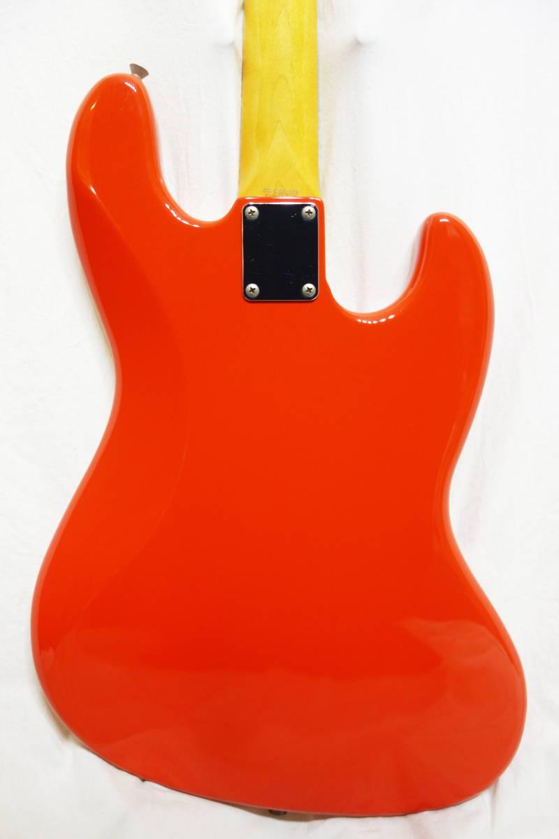 ★レアカラー!Fender Japan ジャズベ「JB62-70L FRD」レフティ 左用 美品 F-1907_画像4