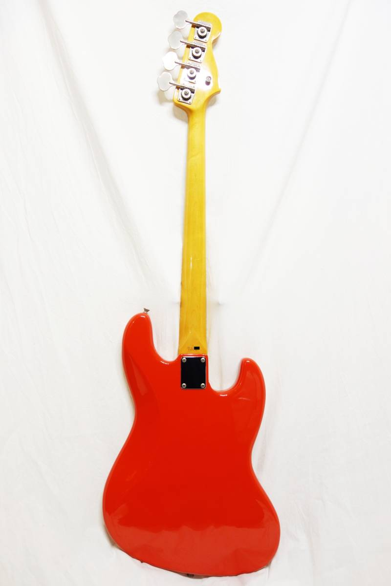 ★レアカラー!Fender Japan ジャズベ「JB62-70L FRD」レフティ 左用 美品 F-1907_画像5