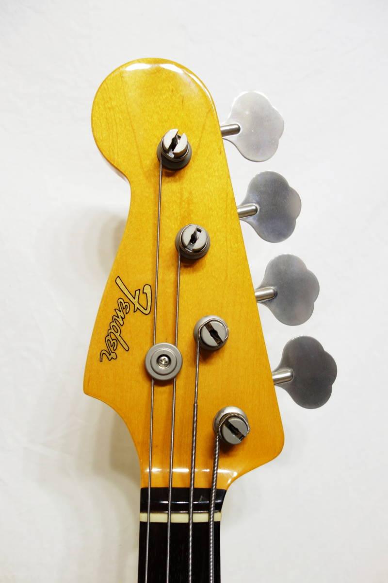 ★レアカラー!Fender Japan ジャズベ「JB62-70L FRD」レフティ 左用 美品 F-1907_画像3