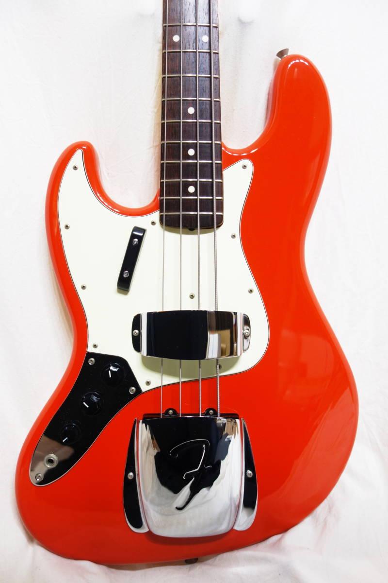 ★レアカラー!Fender Japan ジャズベ「JB62-70L FRD」レフティ 左用 美品 F-1907