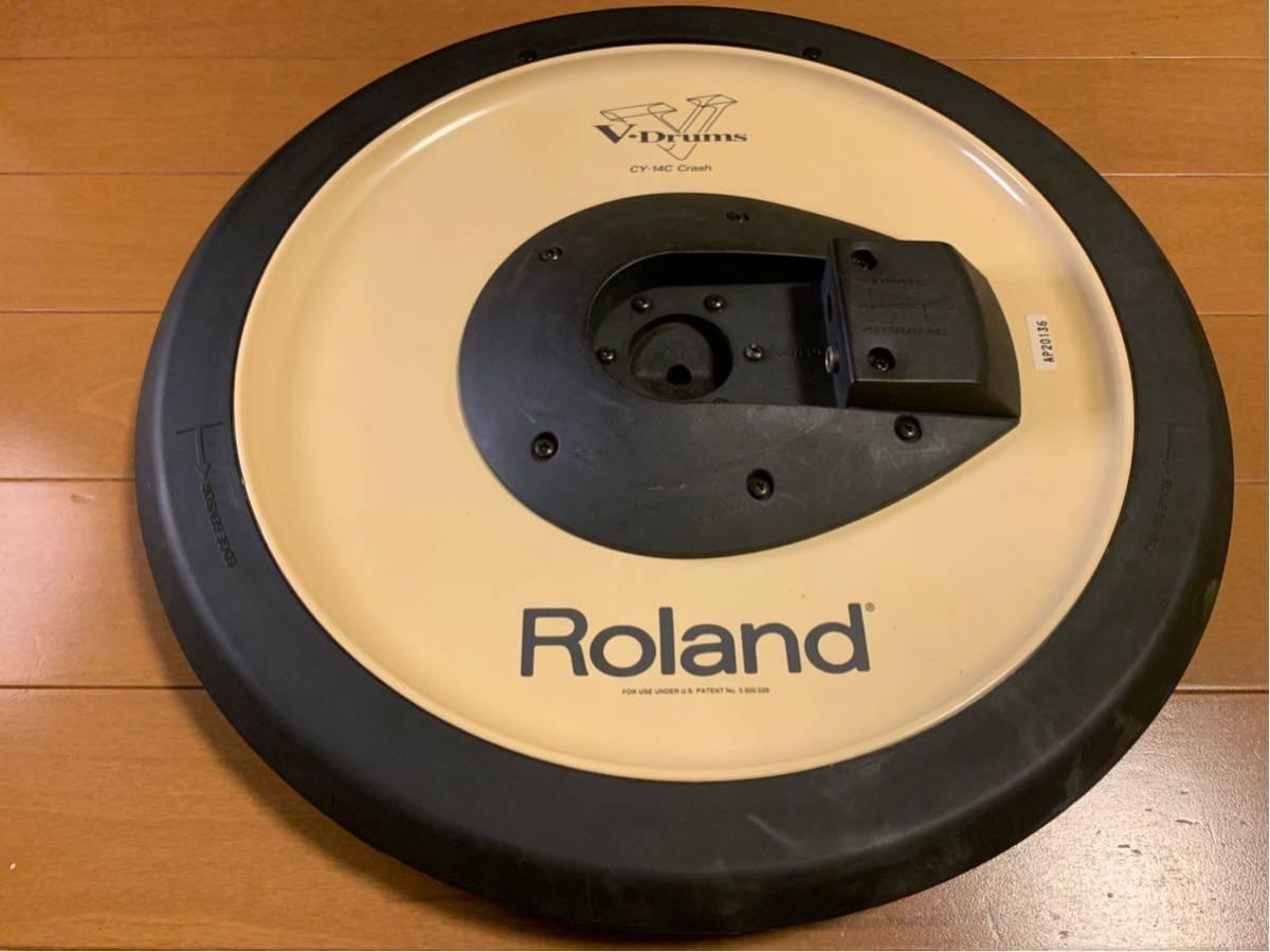 ★☆★Roland(ローランド)電子ドラム クラッシュシンバルパッド V-Cymbal Pad CY-14C Crash USED★☆★送料無料★☆★_画像2