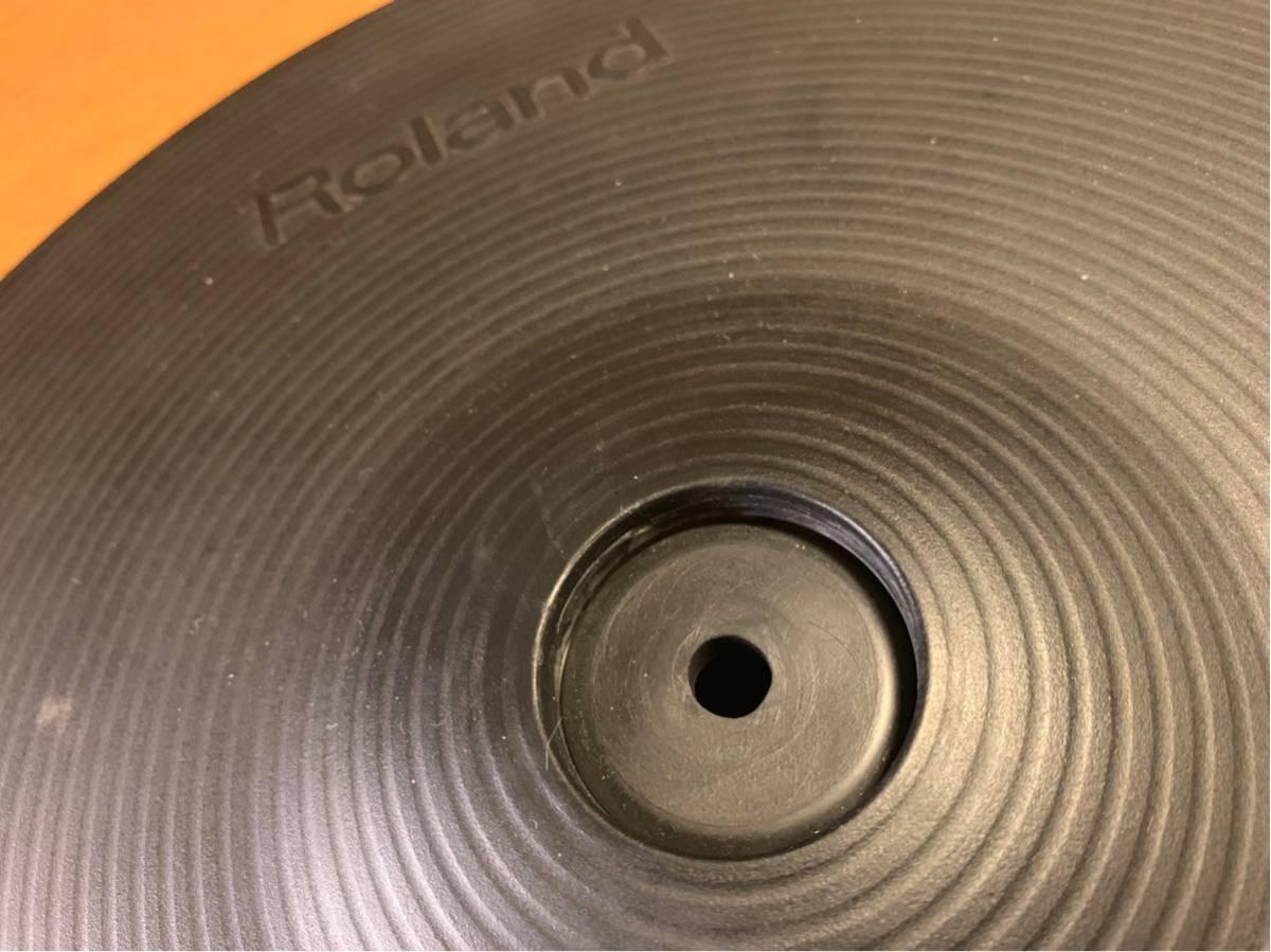 ★☆★Roland(ローランド)電子ドラム クラッシュシンバルパッド V-Cymbal Pad CY-14C Crash USED★☆★送料無料★☆★_画像8
