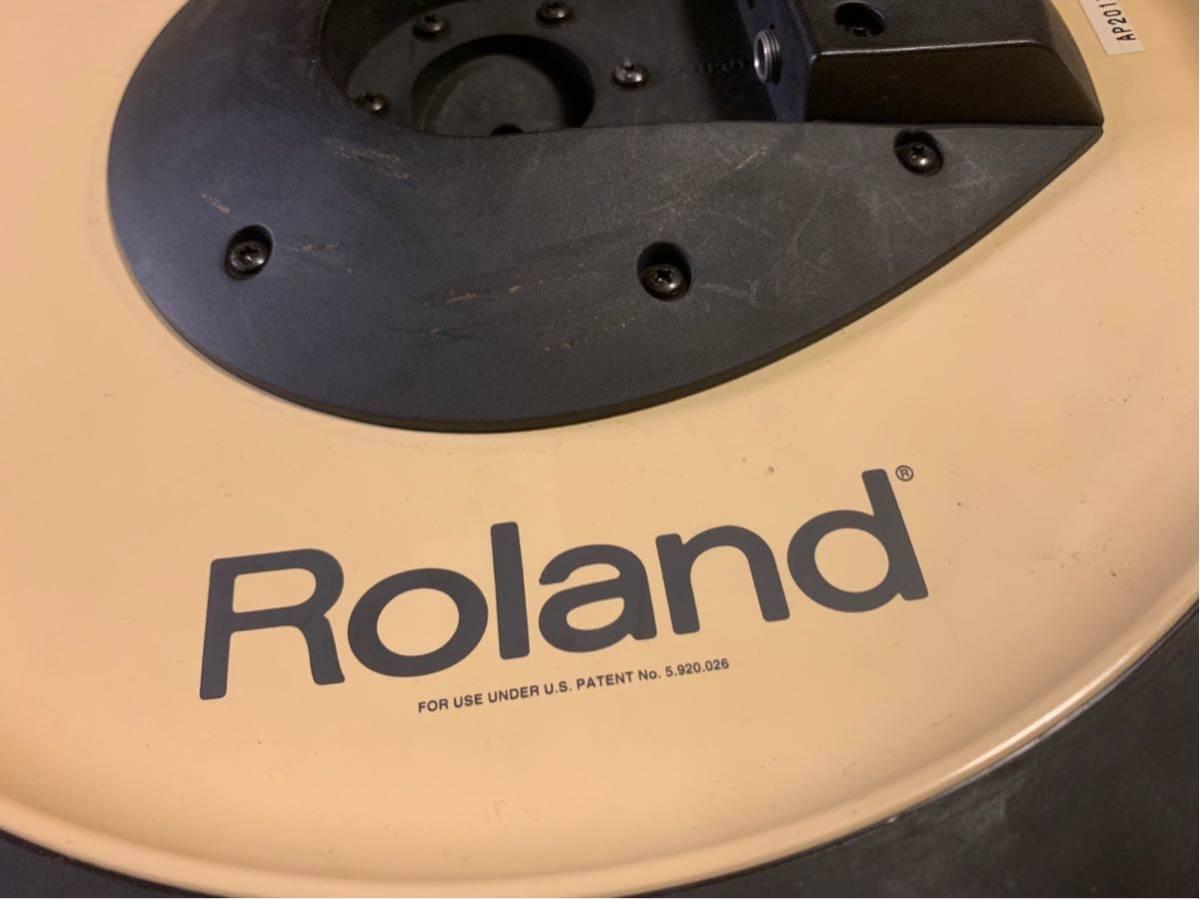 ★☆★Roland(ローランド)電子ドラム クラッシュシンバルパッド V-Cymbal Pad CY-14C Crash USED★☆★送料無料★☆★_画像5