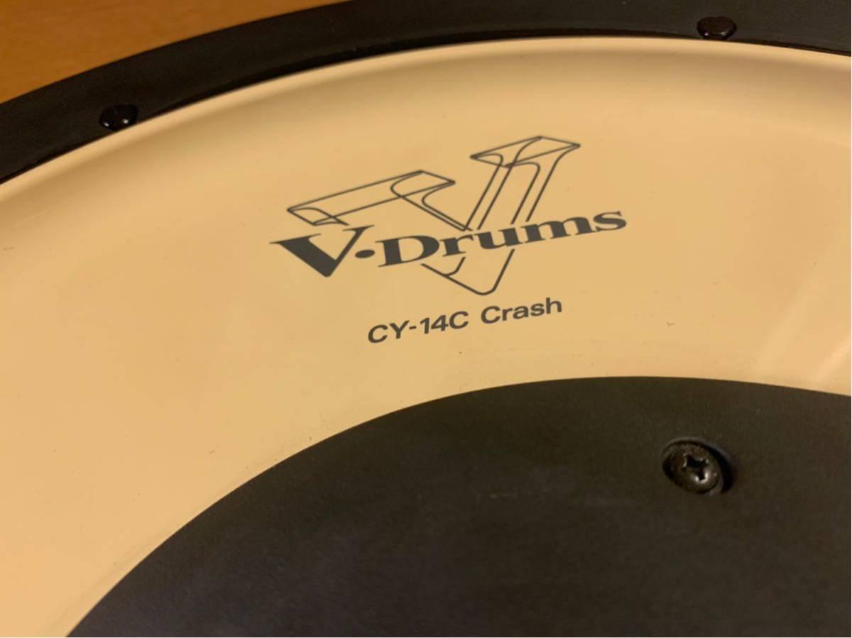 ★☆★Roland(ローランド)電子ドラム クラッシュシンバルパッド V-Cymbal Pad CY-14C Crash USED★☆★送料無料★☆★_画像3