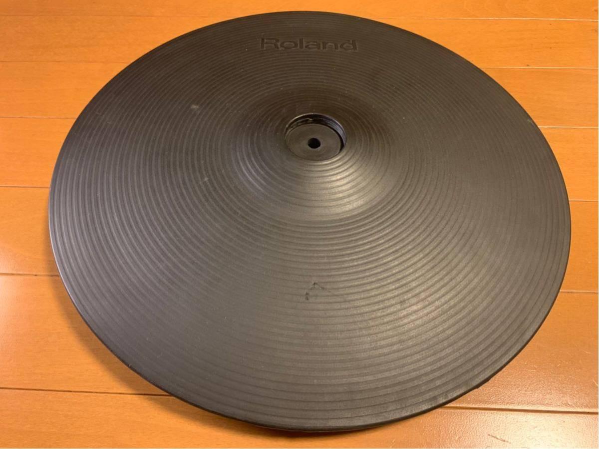 ★☆★Roland(ローランド)電子ドラム クラッシュシンバルパッド V-Cymbal Pad CY-14C Crash USED★☆★送料無料★☆★