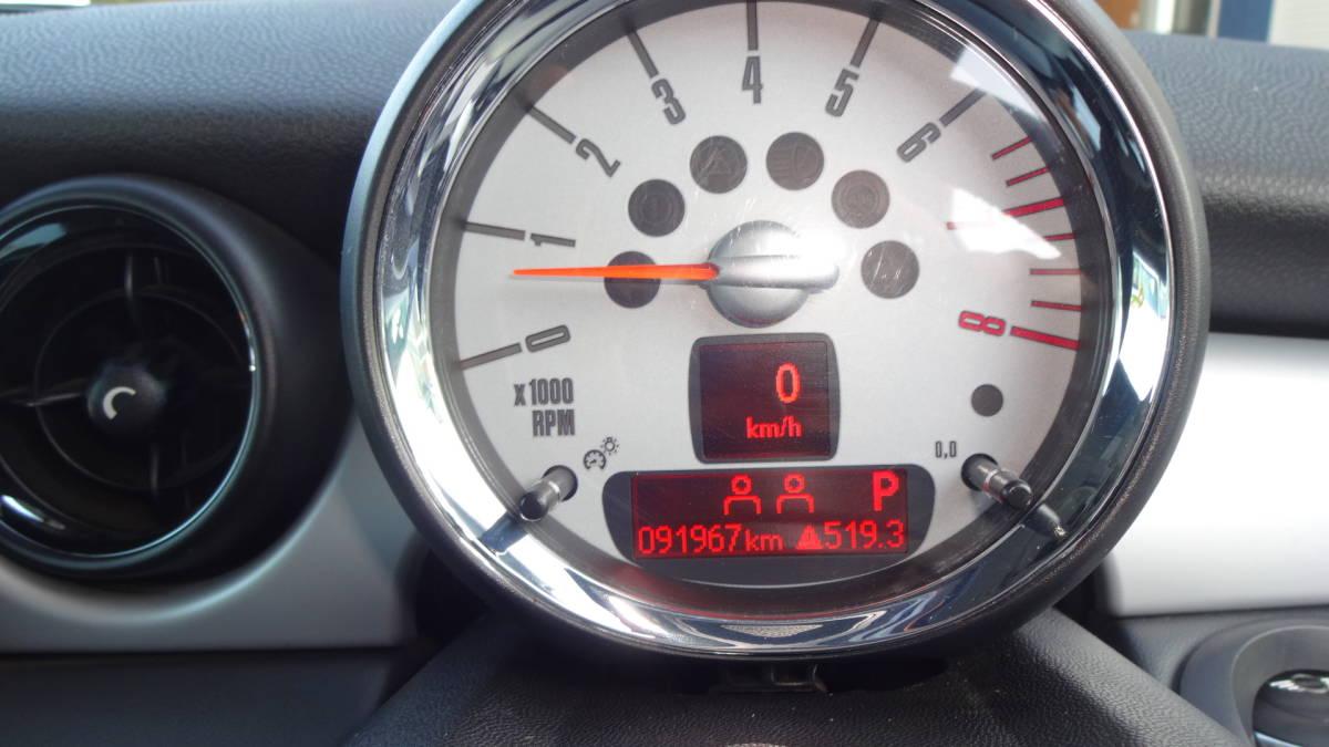BMW ミニクーパー ONE 20年車 92000キロ 車検あり_画像8