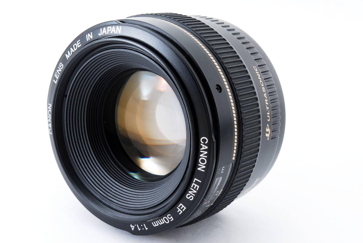 ★新品級の外観★ Canon キャノン EF 50mm f1.4 USM 60size 458105