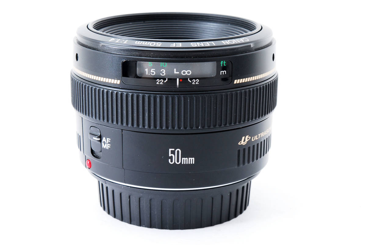 ★新品級の外観★ Canon キャノン EF 50mm f1.4 USM 60size 458105_画像5
