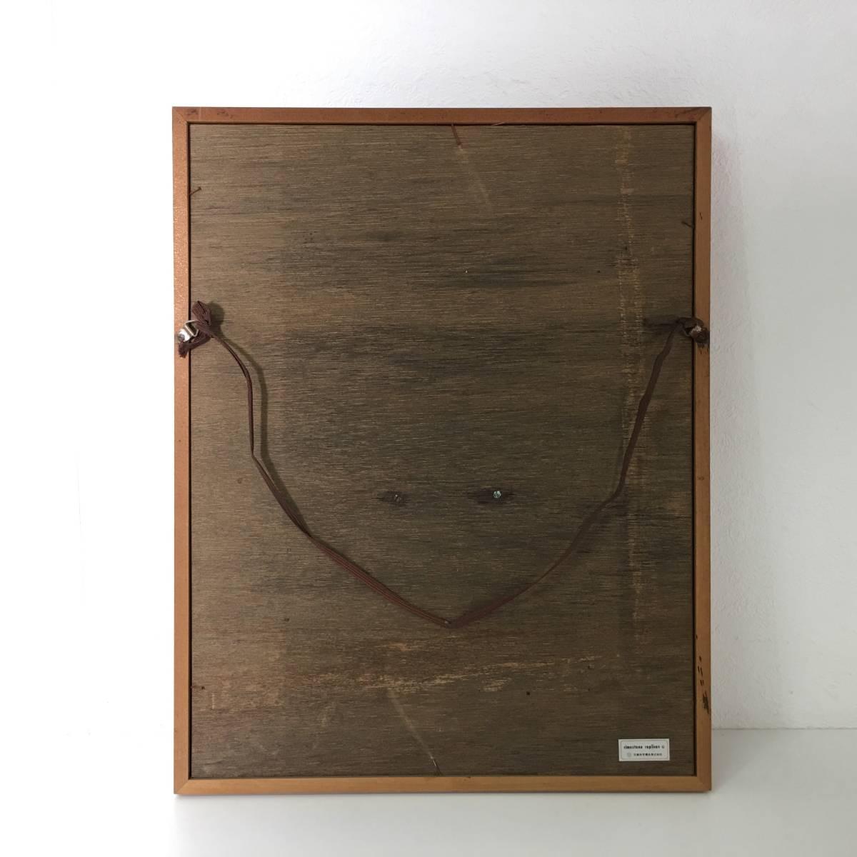 kt11/120 レリーフ 観音像 京都科学標本株式会社 cimastone replicas 額47×37×3cm 陶器製? 壁掛け 工芸美術品_画像8