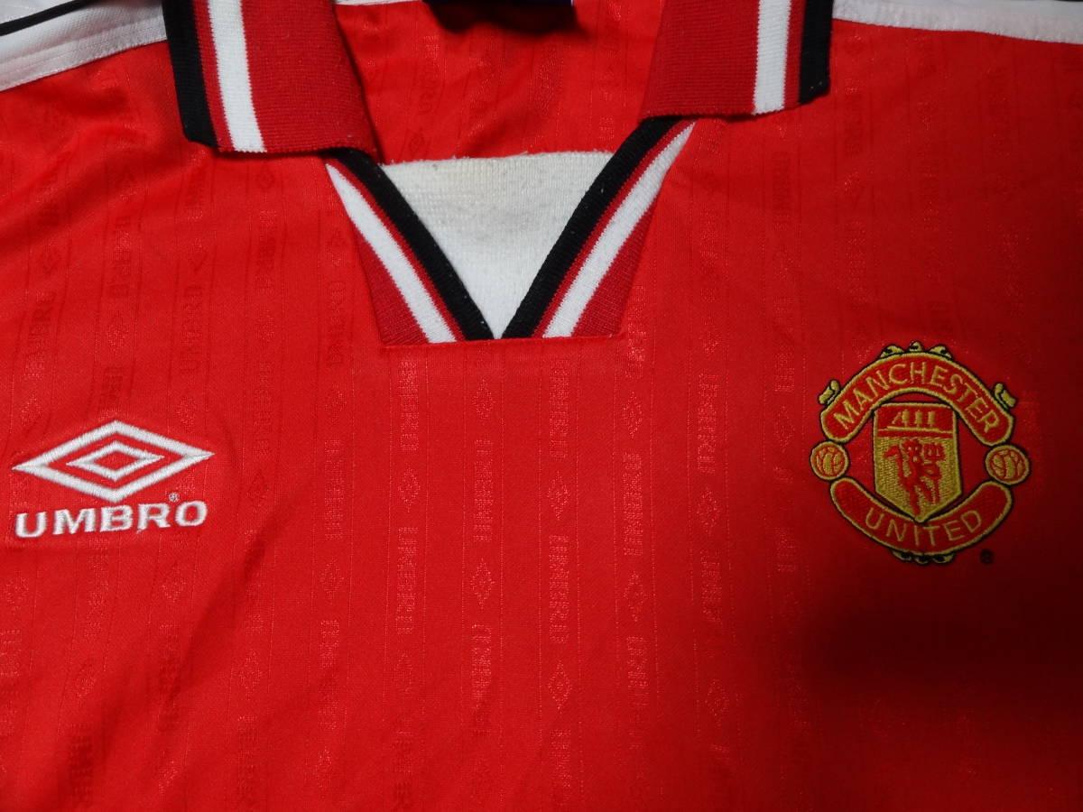マンチェスター・ユナイテッド プラクティスシャツ トレーニングウェア XL アンブロ UMBRO 送料185~ マンU Manchester United_画像4