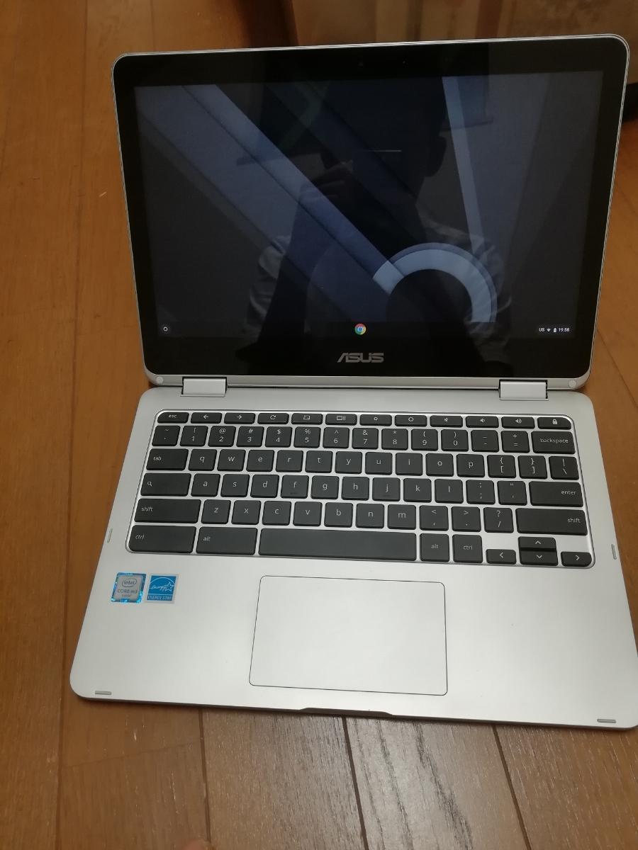 【送料無料】ASUS chromebook flip C302C 本体・ACアダプタのみ【美品】