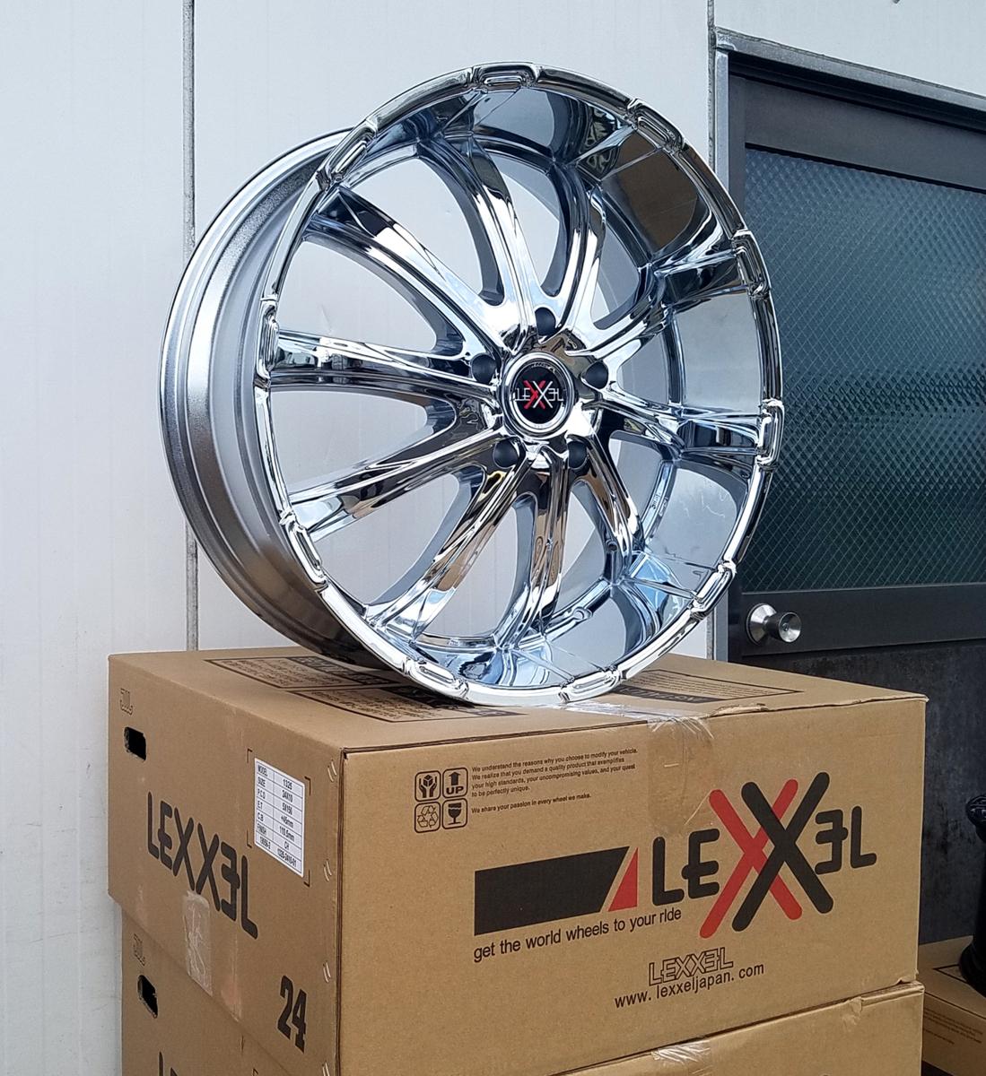 国産タイヤLEXXEL Fury フューリー ランクル ランドクルーザー200系,100系,LX570,セコイア,タンドラ ファルケン S/TZ05 295/35R24 24インチ_画像1