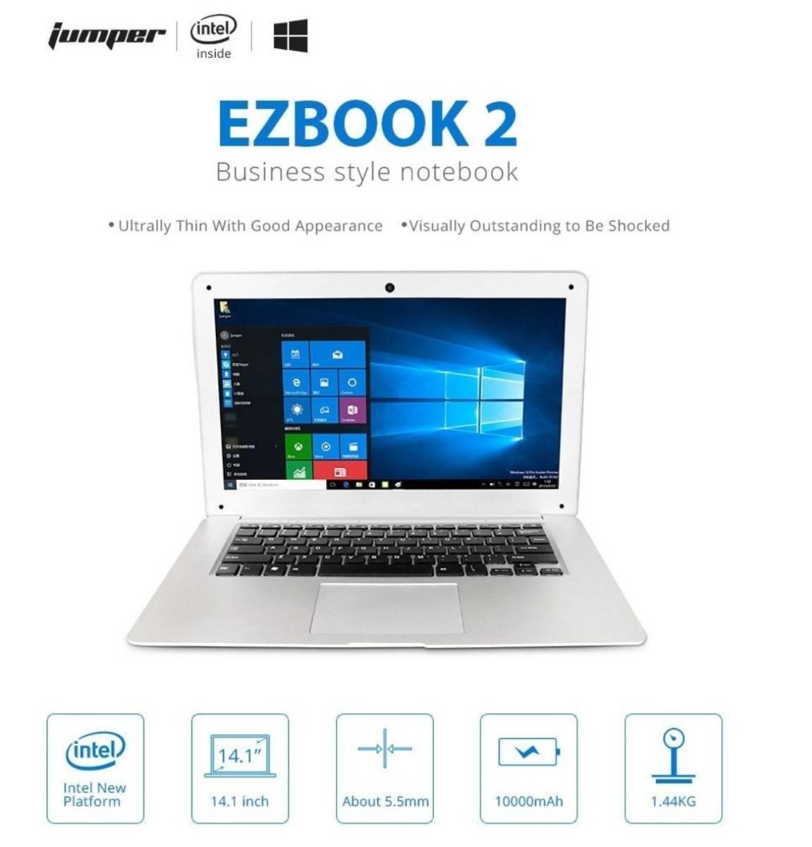 【最安値販売】Laptop Ezbook 2 Ultrabook インテルCHERRY TRAIL X5 Z8350 シルバー 14.0インチ Windows 10 【領収書発行可能】_画像3
