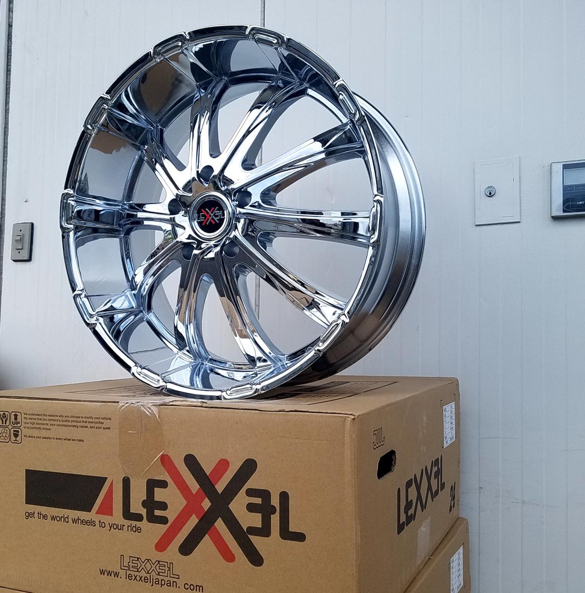 国産タイヤLEXXEL Fury フューリー ランクル ランドクルーザー200系,100系,LX570,セコイア,タンドラ ファルケン S/TZ05 295/35R24 24インチ_画像8