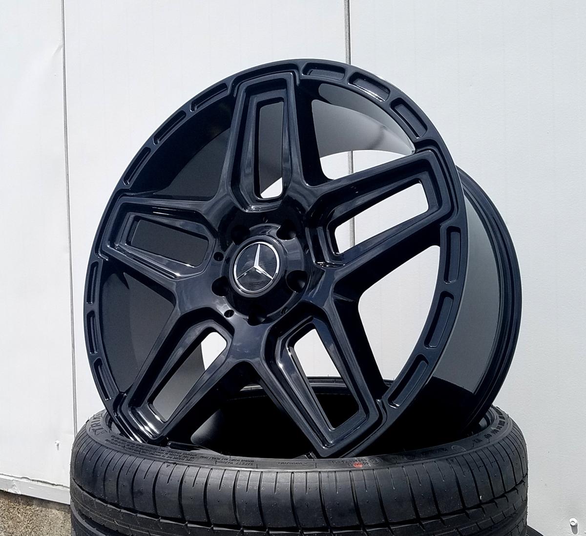 国産タイヤset LEXXEL Anthem メルセデス ベンツ Gクラス ゲレンデ G63 G65 G550 G500 G350 YOKOHAMA PARADA SPEC-X 285/45R22 22インチ_画像6