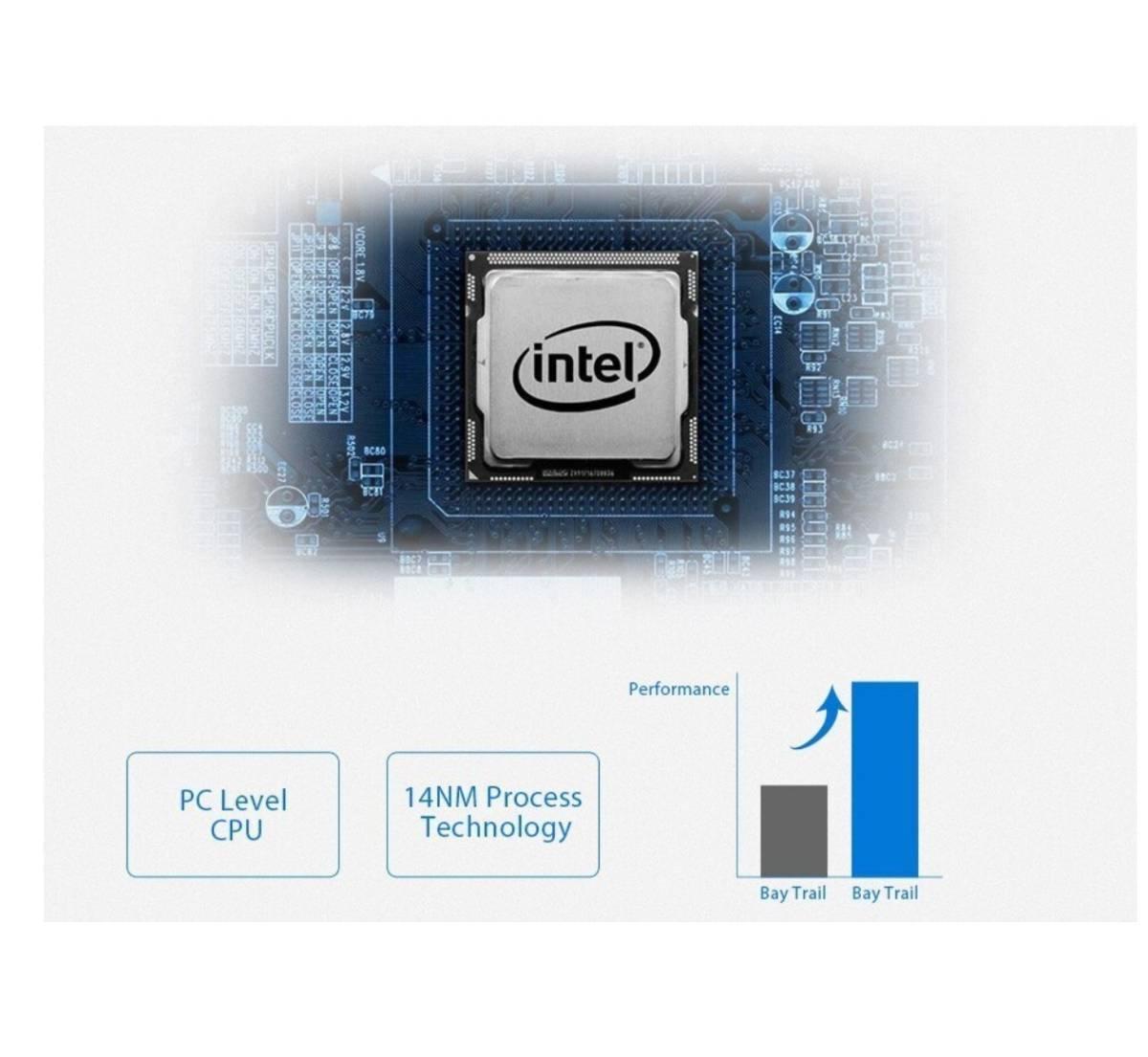 【最安値販売】Laptop Ezbook 2 Ultrabook インテルCHERRY TRAIL X5 Z8350 シルバー 14.0インチ Windows 10 【領収書発行可能】_画像4