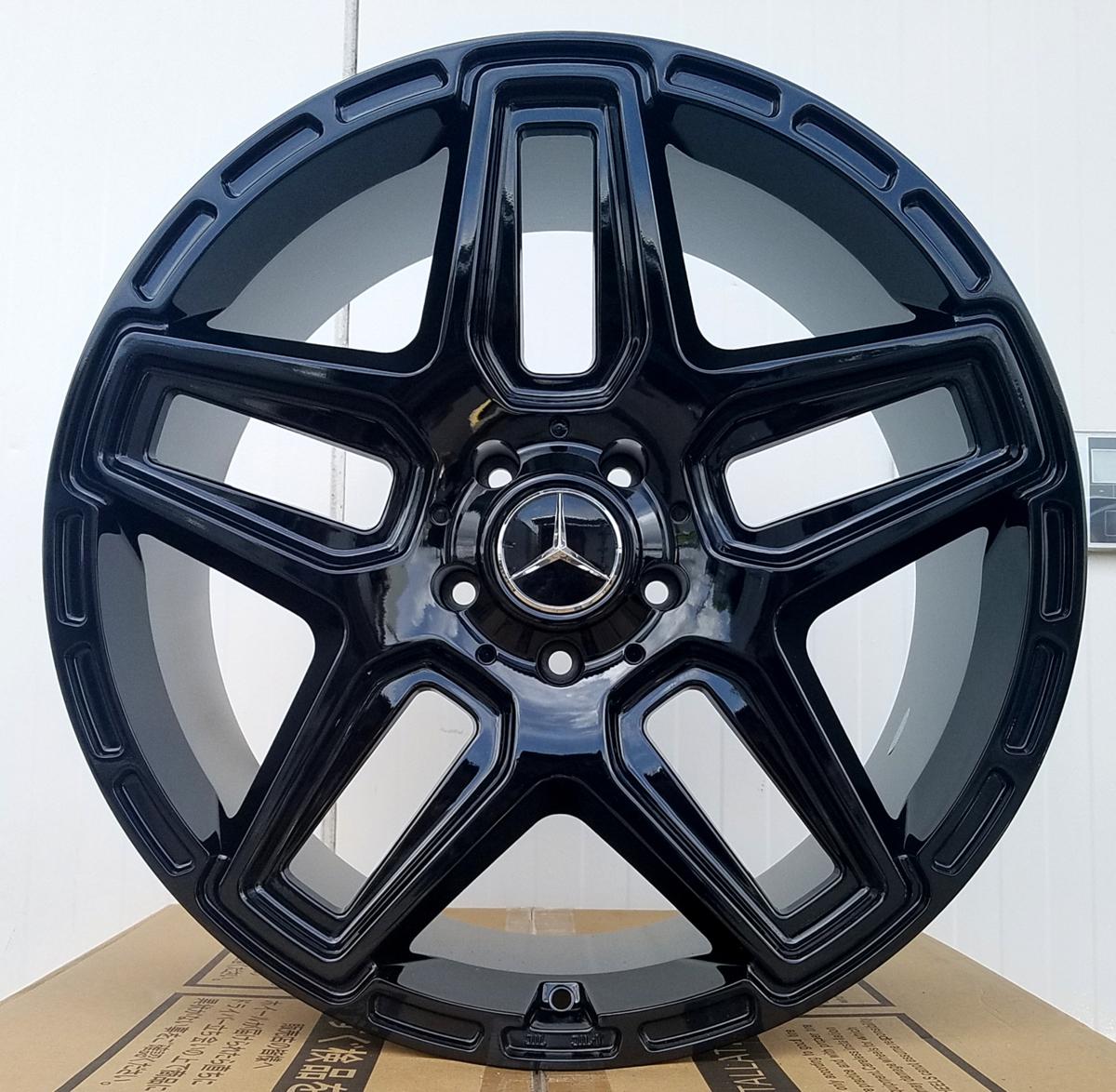 国産タイヤset LEXXEL Anthem メルセデス ベンツ Gクラス ゲレンデ G63 G65 G550 G500 G350 ファルケン S/TZ05 285/45R22 22インチ_画像4