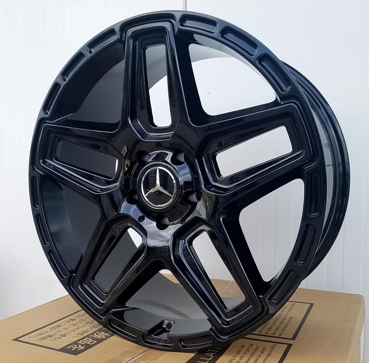 国産タイヤset LEXXEL Anthem メルセデス ベンツ Gクラス ゲレンデ G63 G65 G550 G500 G350 ファルケン S/TZ05 285/45R22 22インチ_画像3
