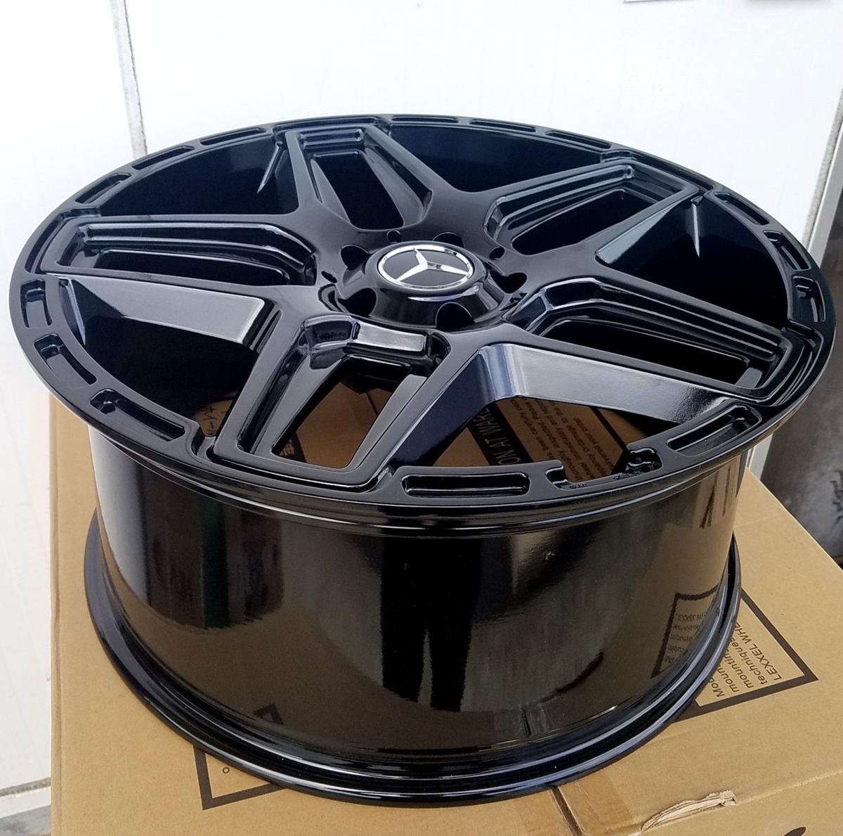 国産タイヤset LEXXEL Anthem メルセデス ベンツ Gクラス ゲレンデ G63 G65 G550 G500 G350 ファルケン S/TZ05 285/45R22 22インチ_画像8