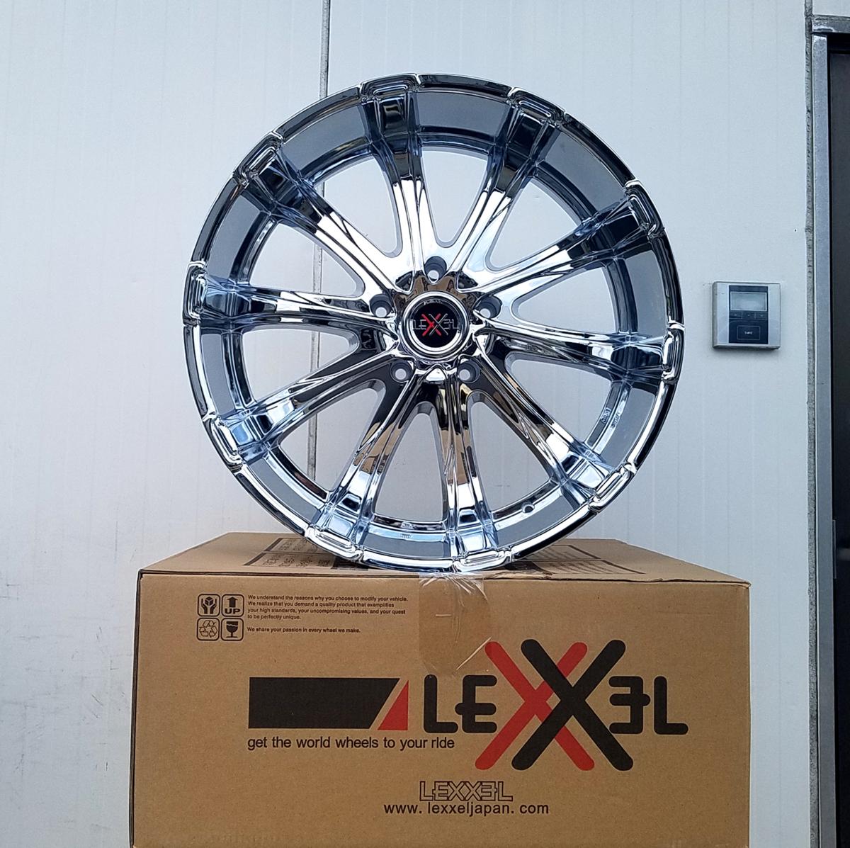 国産タイヤLEXXEL Fury フューリー ランクル ランドクルーザー200系,100系,LX570,セコイア,タンドラ ファルケン S/TZ05 295/35R24 24インチ_画像3