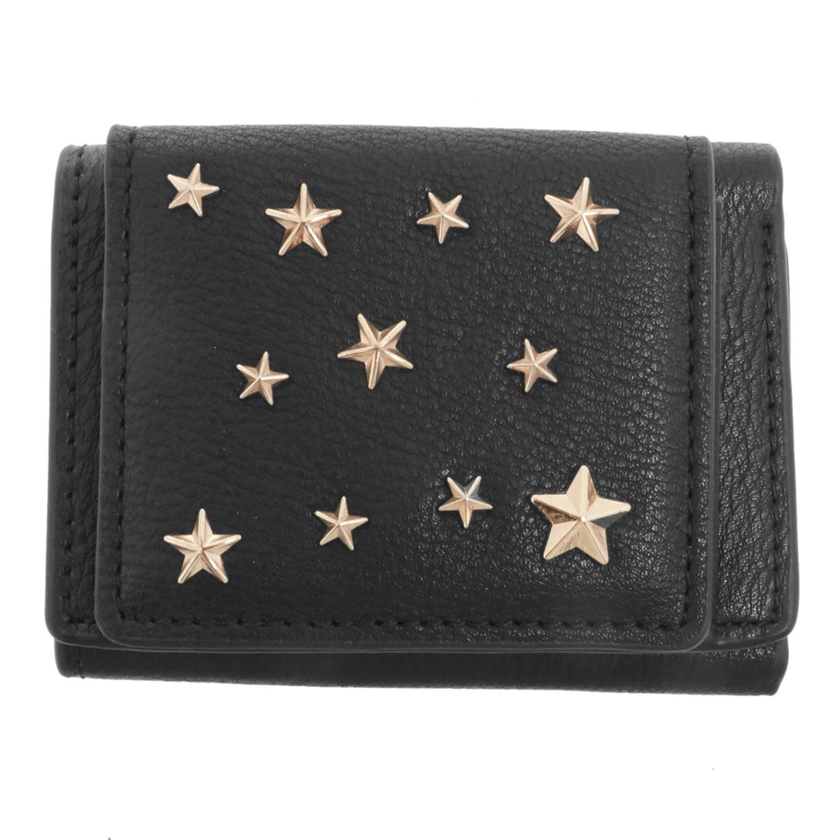 74d6b858d1df 三つ折り財布 通販 ミニ財布 財布 レディース コンパクト かわいい おしゃれ 小銭入れあり カード収納☆lum0721☆BK.ブラック