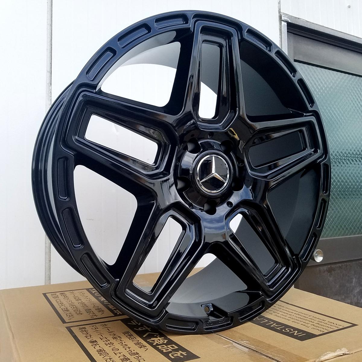 国産タイヤset LEXXEL Anthem メルセデス ベンツ Gクラス ゲレンデ G63 G65 G550 G500 G350 ファルケン S/TZ05 285/45R22 22インチ_画像5