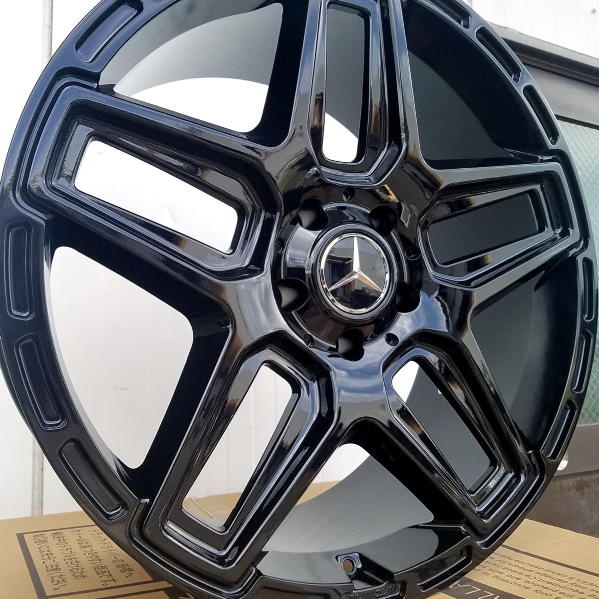 国産タイヤset LEXXEL Anthem メルセデス ベンツ Gクラス ゲレンデ G63 G65 G550 G500 G350 ファルケン S/TZ05 285/45R22 22インチ_画像1