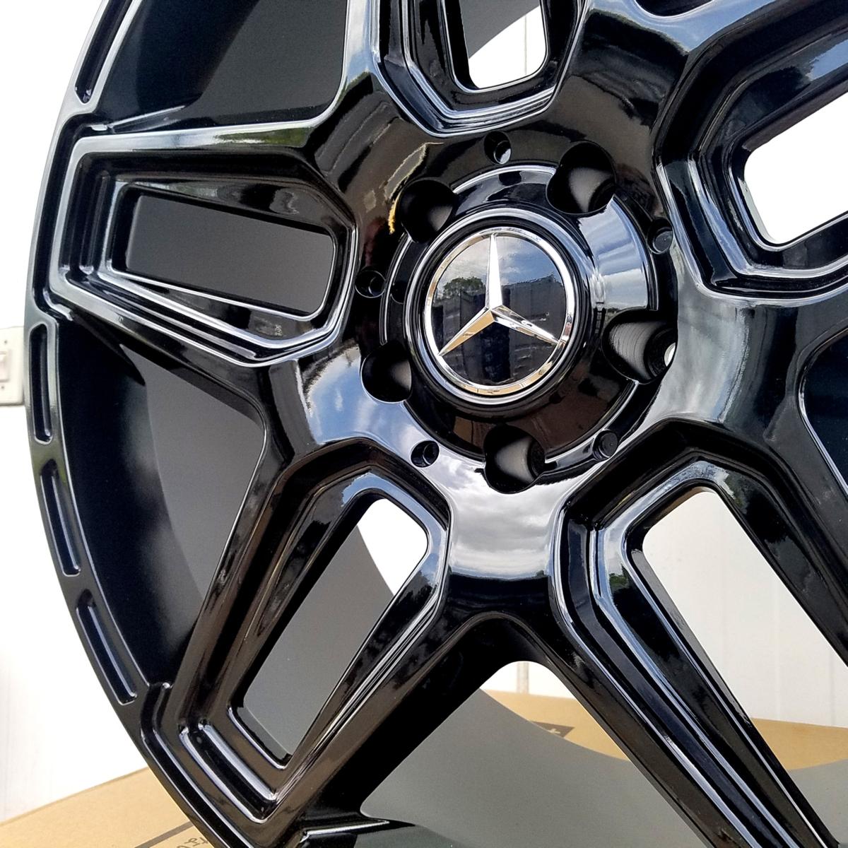 国産タイヤset LEXXEL Anthem メルセデス ベンツ Gクラス ゲレンデ G63 G65 G550 G500 G350 ファルケン S/TZ05 285/45R22 22インチ_画像2