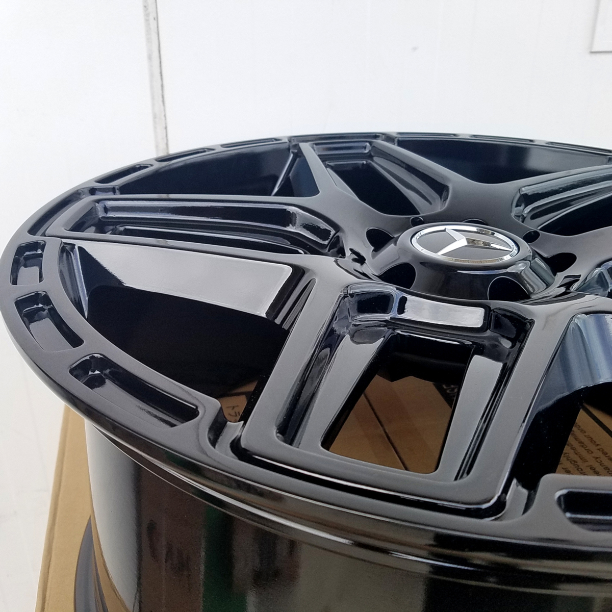 国産タイヤset LEXXEL Anthem メルセデス ベンツ Gクラス ゲレンデ G63 G65 G550 G500 G350 ファルケン S/TZ05 285/45R22 22インチ_画像7