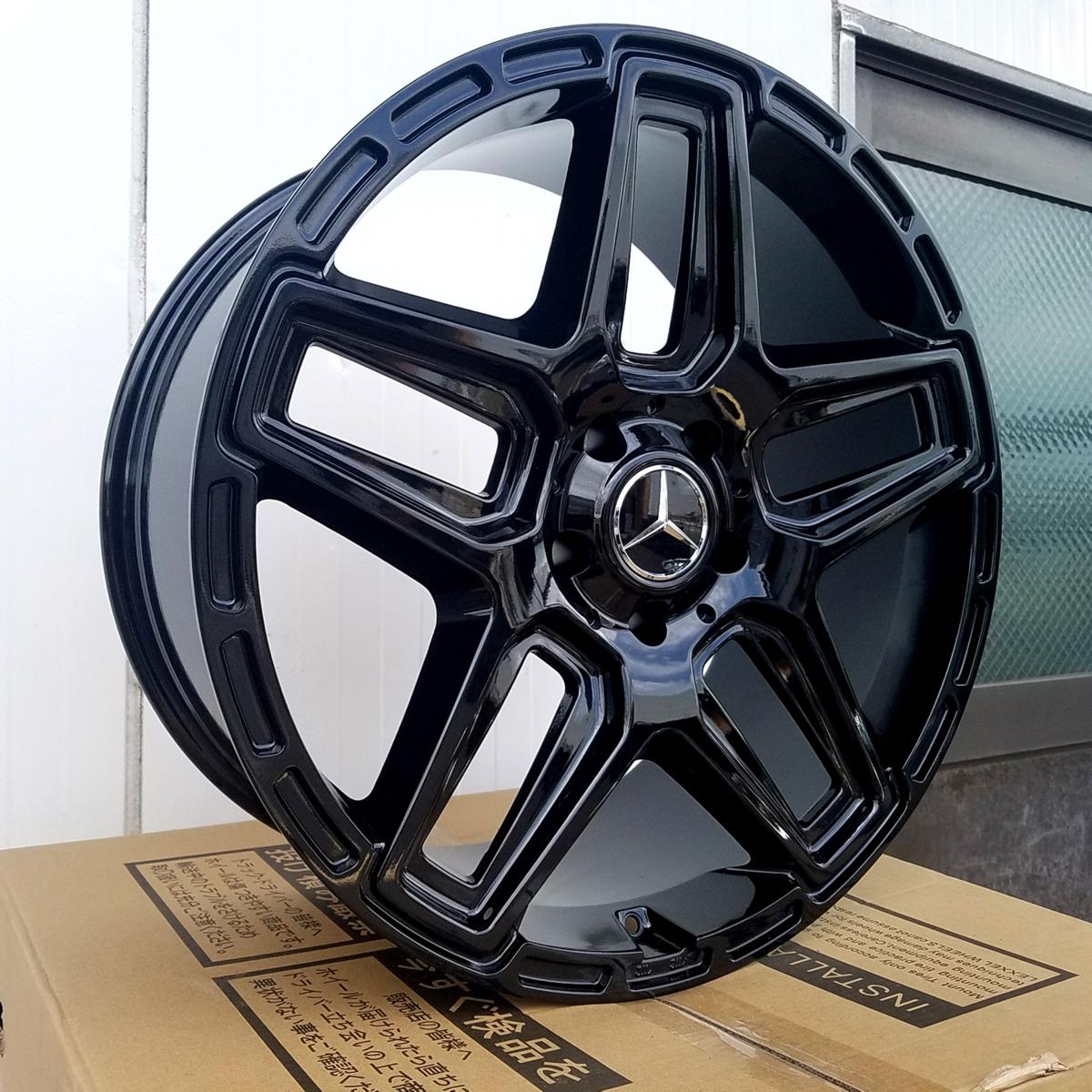 国産タイヤset LEXXEL Anthem メルセデス ベンツ Gクラス ゲレンデ G63 G65 G550 G500 G350 ファルケン S/TZ05 285/45R22 22インチ_画像10