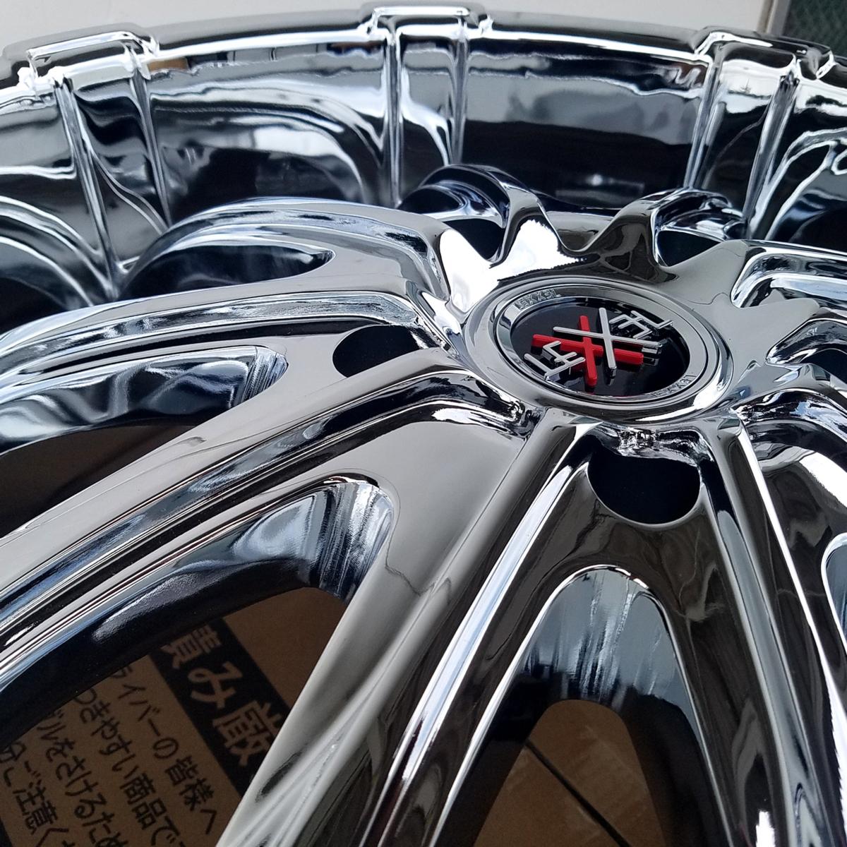 国産タイヤLEXXEL Fury フューリー ランクル ランドクルーザー200系,100系,LX570,セコイア,タンドラ ファルケン S/TZ05 295/35R24 24インチ_画像4