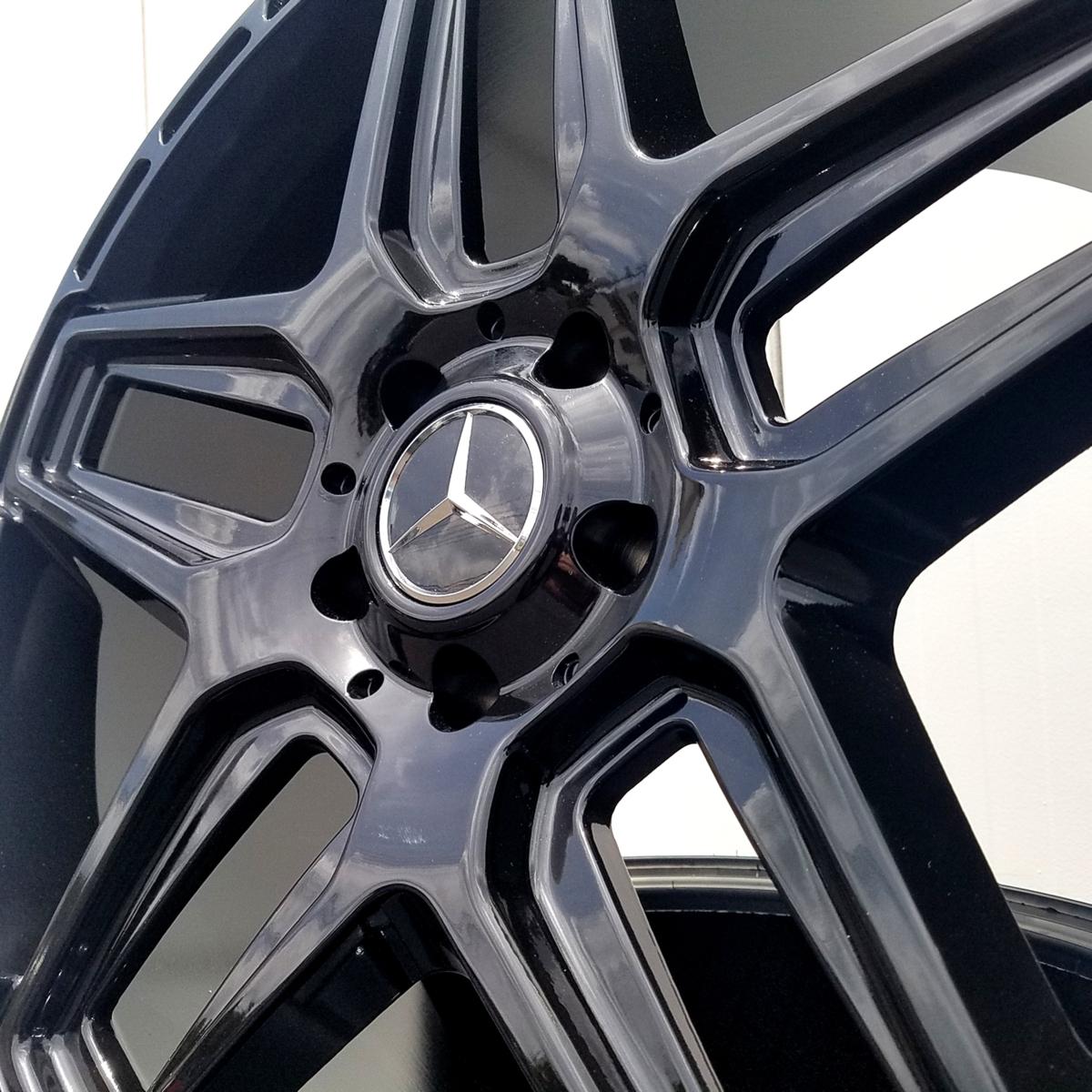 国産タイヤset LEXXEL Anthem メルセデス ベンツ Gクラス ゲレンデ G63 G65 G550 G500 G350 YOKOHAMA PARADA SPEC-X 285/45R22 22インチ_画像4
